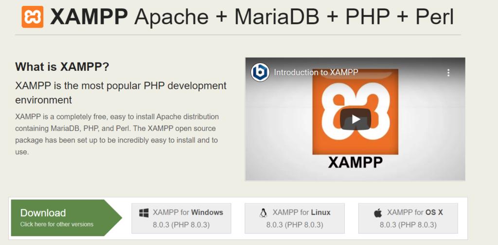 برنامج XAMPP ... الميزات وطريقة التنصيب والتشغيل (دليل مصور)