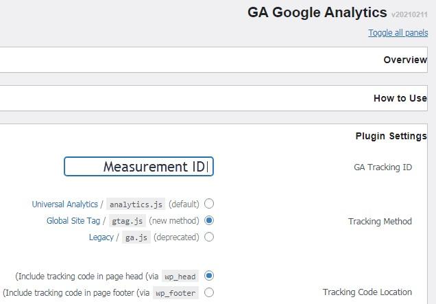 28 3 – إثبات ملكية موقع ووردبريس بطريقة إحصاءات جوجل