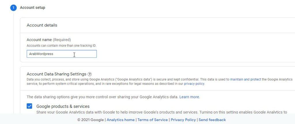 9 3 – إثبات ملكية موقع ووردبريس بطريقة إحصاءات جوجل